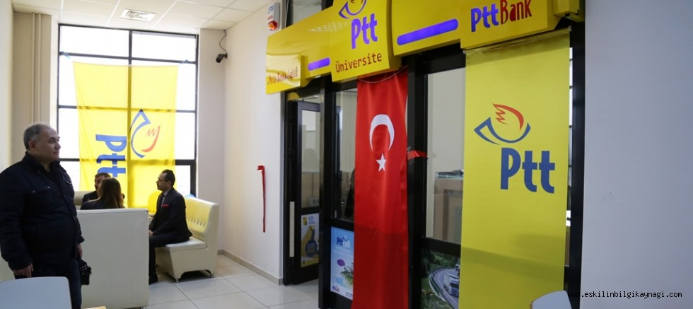Aksaray'da  PTT Üniversite Şubesi Törenle Açıldı