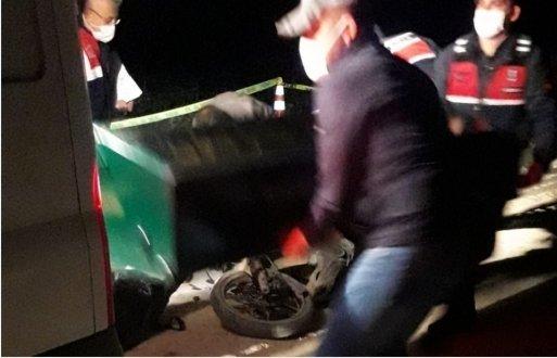 Başaran Köyü Yolunda Trafik Kazası 1 Ölü