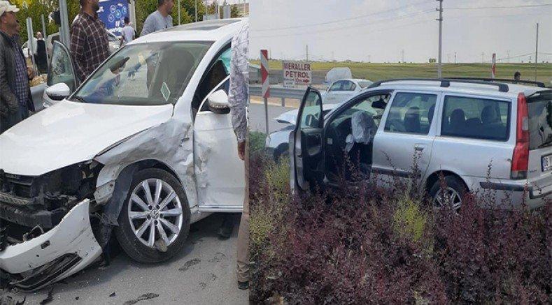 Bozcamahmut Işıklarda Trafik Kazası