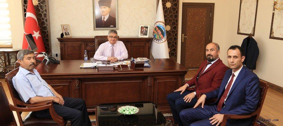 Eskil Gazetesinden Vali Aykut Pekmez'e ziyaret