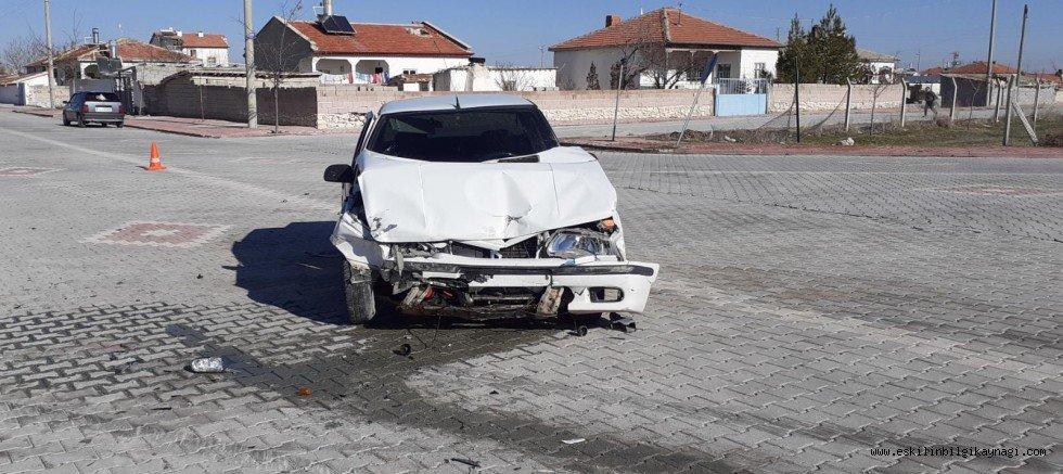Eskilde Trafik Kazası Meydana Geldi