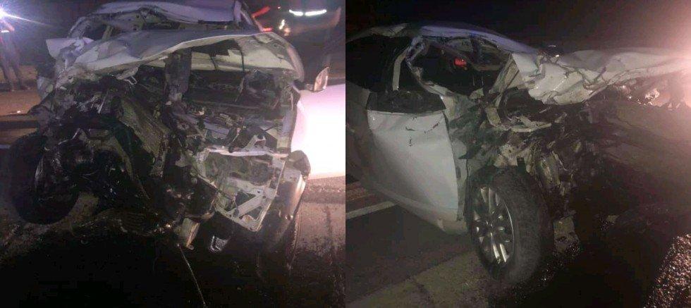 Eskilli Genç Akbaş Yakınlarında Trafik Kazası Yaptı