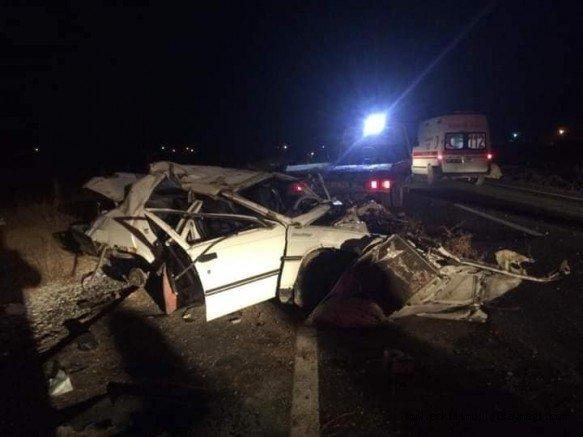 Eskilli Genç Sabaha Karşı Kaza Yaptı: 1 Ölü, 1 Yaralı
