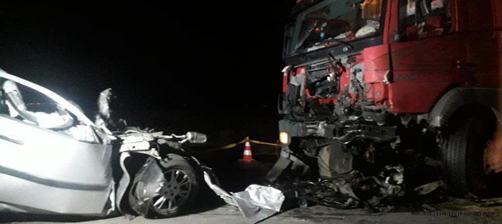 Eşmekaya'da Feci Kaza 1 Ölü