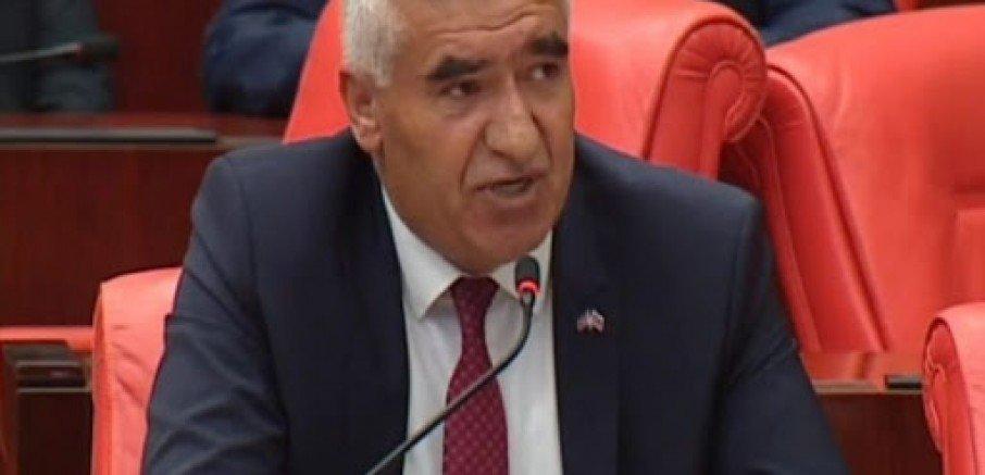 Milletvekili Ramazan Kaşlı Eskil'de Meydana Gelen Dolu Afetini Mecliste Dile Getirdi.