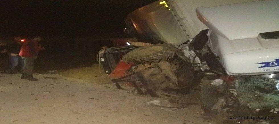 Sultanhanı İlçesinde Feci Traktor Kazası 3 Yaralı