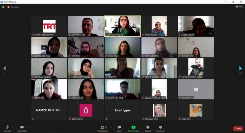 TRT'nin Uzman İsimleri İletişim Öğrencileriyle Buluştu